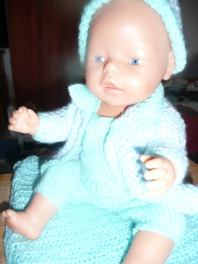 I made this many years ago for this doll